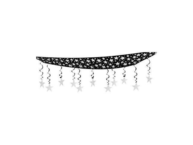 Beistle - 50335-S - The Stars Are Out Ceiling Decor - Pack of 6