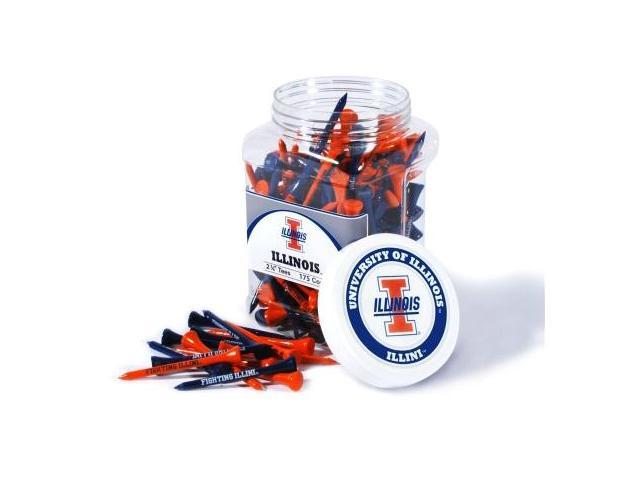 Team Golf 21351 Illinois Fighting Illini 175 Tee Jar
