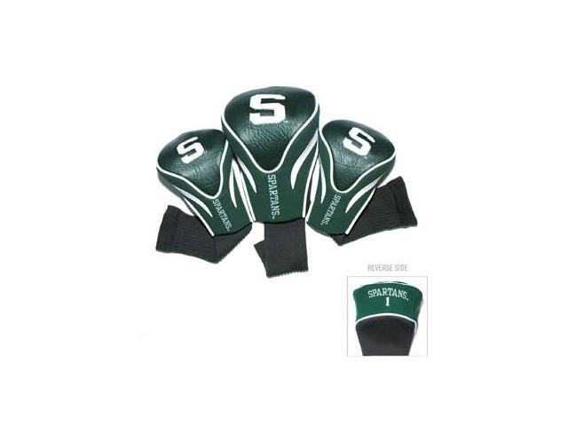 Team Golf 22394 Michigan State University 3 Pack Contour Fit Headcover