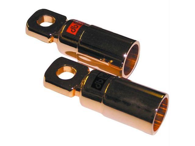 DB LINK RTG8 GOLD RING TERMINALS  - 8 GAUGE