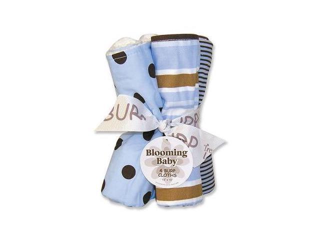 Trend-Lab 101278 Max Burp Cloths 4Pk