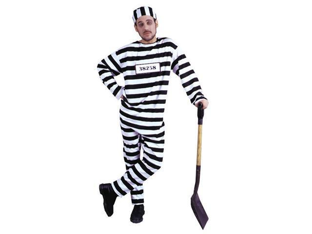 Costumes For All Occasions Ac31Xl Convict Costume Xlarge