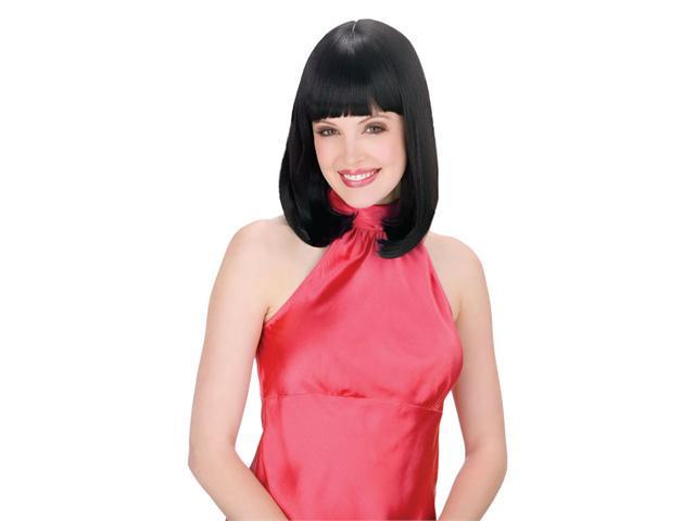 Costumes For All Occasions FW92011BK Classic Beauty Wig Black