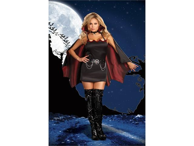 Costumes For All Occasions RL5991XL Extra Large Fang Banging Fun Vamp