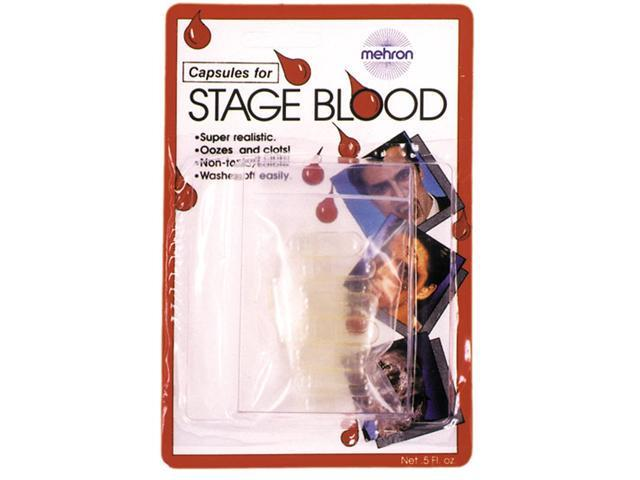 Costumes For All Occasions DD447 Capsules For Blood 12 Pack