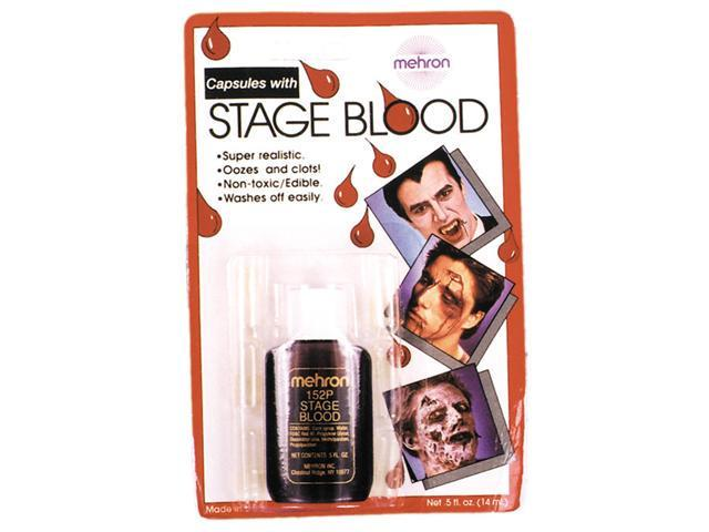 Costumes For All Occasions DD448 Capsules.5 Oz Blood 6 Pk