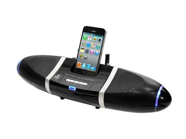 PyleHome PIWPD3 iPod-iPhone Wireless Speakers Docking Station with Aux Input