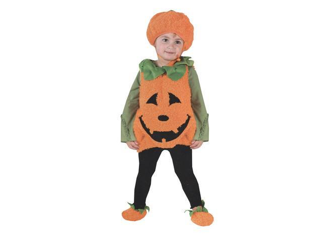 Costumes For All Occasions FW8669TS Pumpkin Cutie Pie Vest 24 Mos