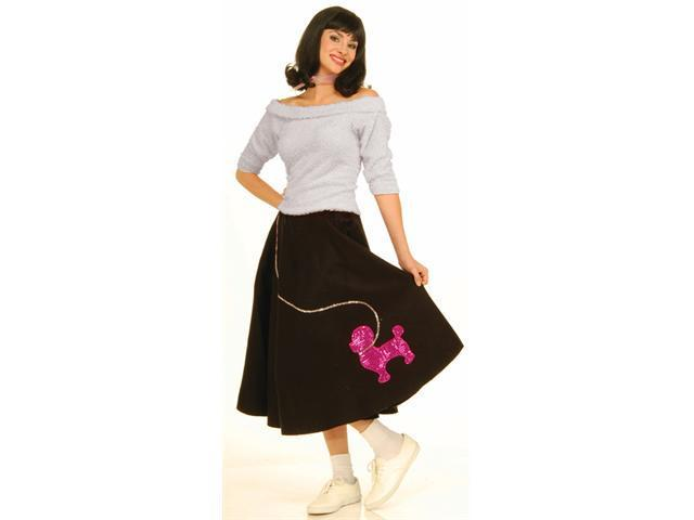 Costumes For All Occasions FM60855 Sock Hop Top Pink