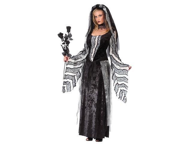 Costumes For All Occasions FW5485SD Black Rose Spirit sm Medium