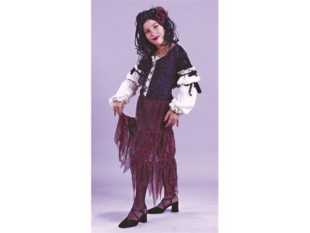 Costumes For All Occasions FW5846SM Small Gypsy Rose Child