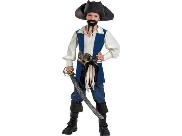 Costumes For All Occasions DG6360L Captn Jack Standard 4 6