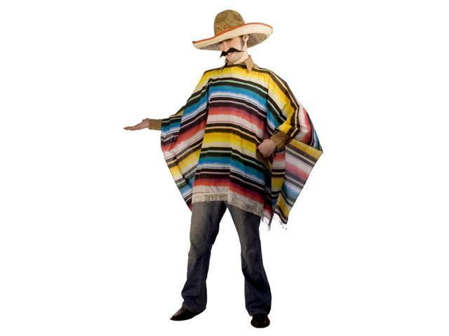 Costumes For All Occasions MR148126 Mexican Serape and Sombrero