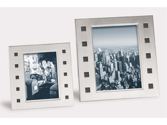 Zack 22730 ECCO photo frame for 3.55x5.12 inch Stainless Steel