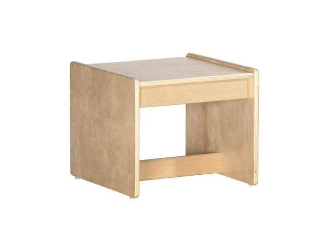 Early Childhood Resource ELR-0684 Living Room Set - Birch End Table