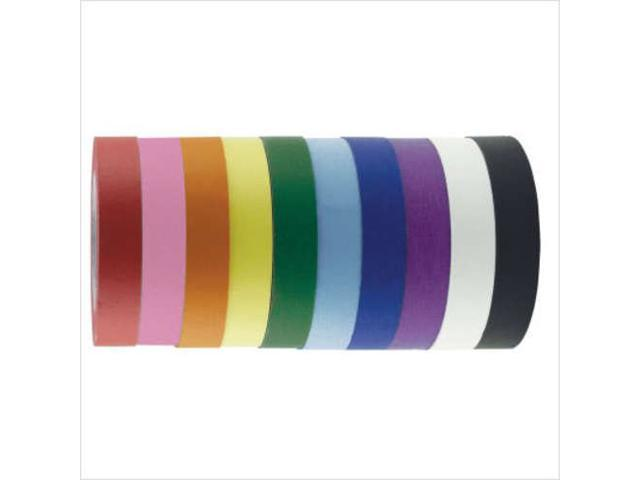Early Childhood Resource ELR-0351-BK 1 in. Kraft Masking Tape Roll - Black