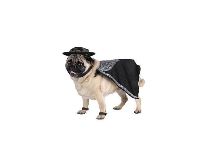 Costumes For All Occasions DG5046L Zorro Pet Costume Size Large