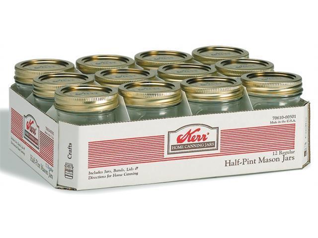 Hearthmark Pint Regular Mouth Canning Jars  00503