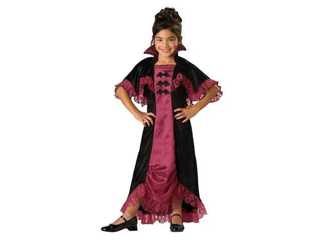 Costumes For All Occasions IC17004C6 Midnight Vampiress 2B Child 6