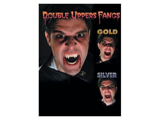 Costumes For All Occasions EA79 Fangs Upper Double Coffin