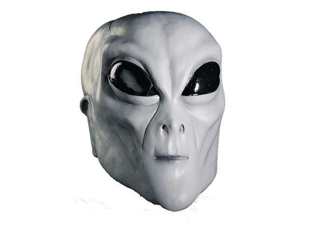 Costumes For All Occasions MI9812 Alien Grey Mask
