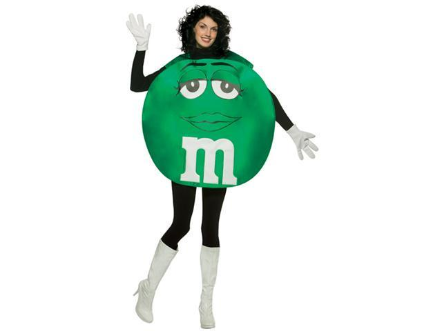 Costumes For All Occasions Gc45302 Green M & M Adult Costume