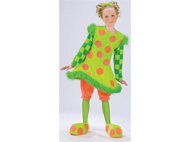 Costumes For All Occasions Fw112551Ts Lolli The Clown Costume Small