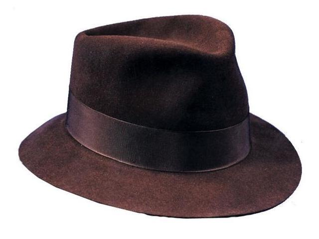 Costumes For All Occasions Ga66Md Fedora Deluxe Hat Brown Med