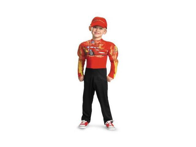 Costumes For All Occasions DG27237K Lightning Mcqueen Muscle 7-8