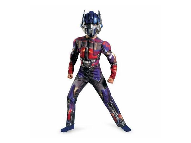 Costumes For All Occasions DG28509G Optimus Prime Muscle 10-12