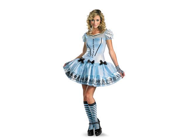 Costumes For All Occasions DG25653E Sassy Alice In Wondrland 12-14