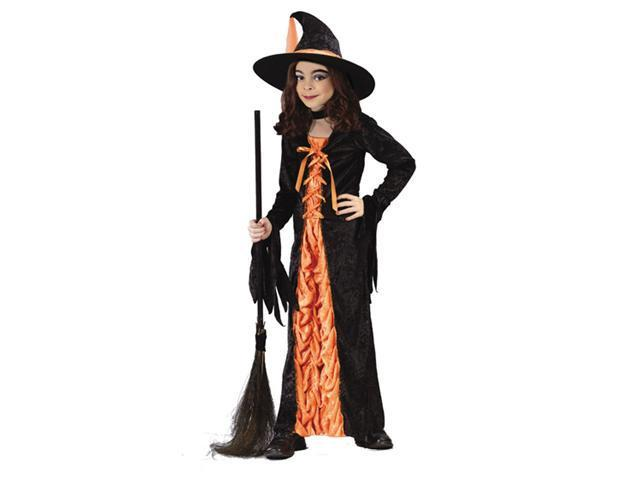Costumes For All Occasions Fw5904Md Witch Mystic Orange Medium