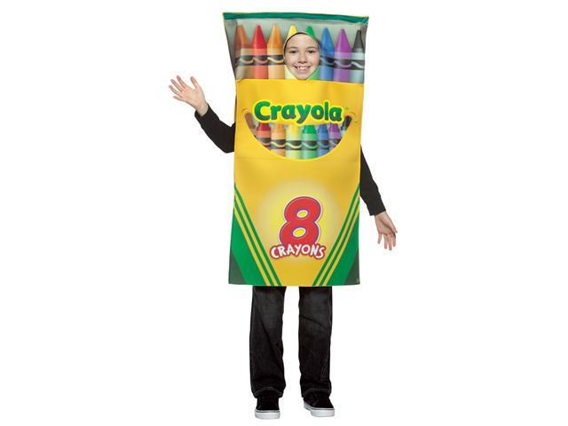 Costumes For All Occasions Gc4521 Crayola Crayon Box Child Cost