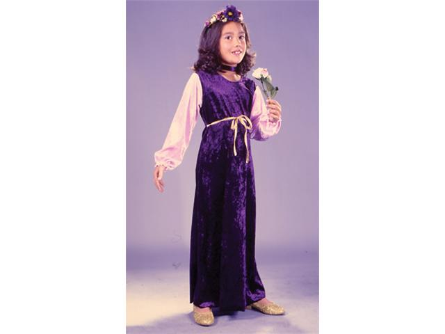 Costumes For All Occasions Fw1480Sm Flower Princess Velvt Ch Sm