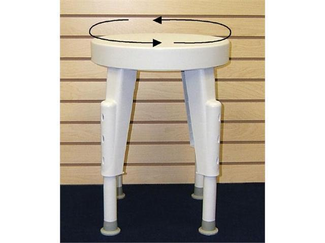Complete Medical 1185B Shower Stool Rotating