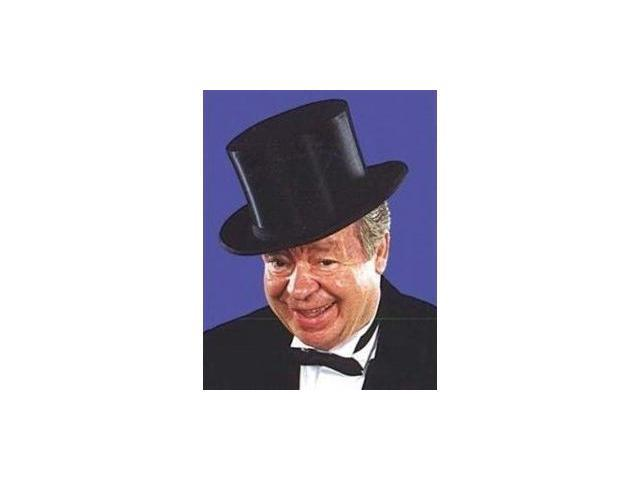 Costumes For All Occasions Ru57004 Top Hat Collapsible Black Xl