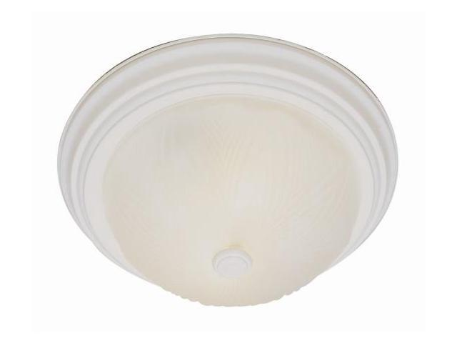 Trans Globe Lighting 58801 AW 2 Light Antique White Ceiling Mount