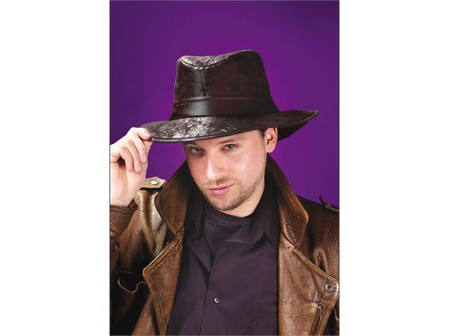 Costumes For All Occasions FW8181BK Fedora Black