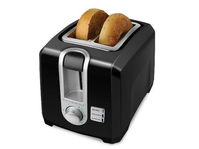 Black & Decker T2569B 2-slice Toaster- Black
