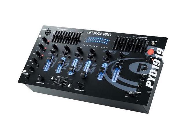 PylePro PYD1919 4 Channel Professional Mixer