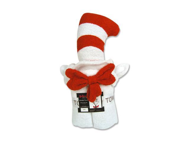 Trend-Lab 30076 CHARACTER HOODED TOWEL-CAT IN THE HAT