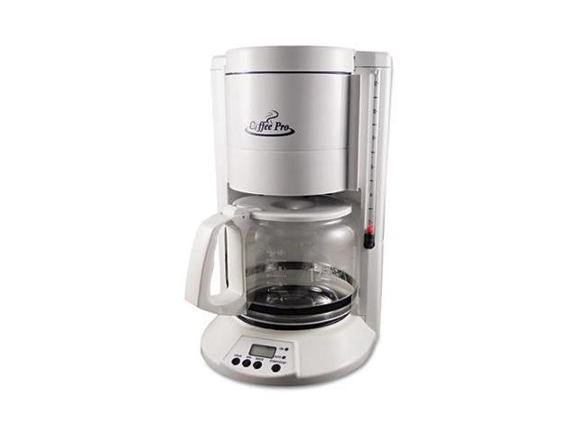 Ogf CP330W Home/Office 12-Cup Coffee Maker, White