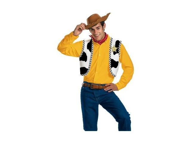 Disguise 198459 Toy Story- Woody Adult Costume Kit
