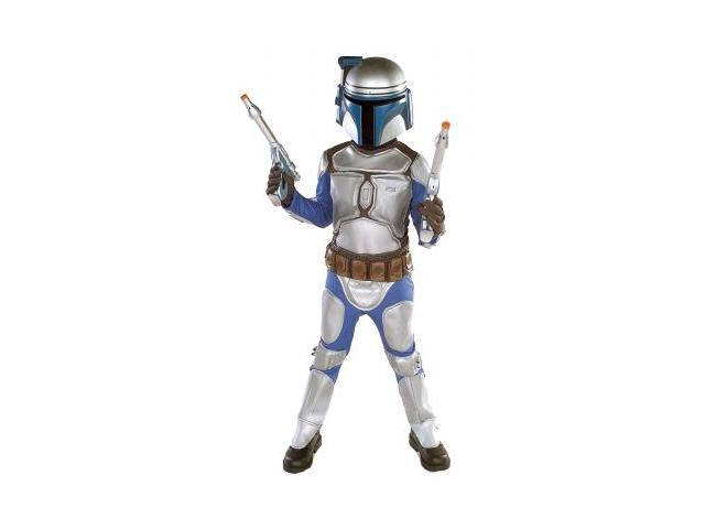 Rubies Costumes 155505 Star Wars Jango Fett Deluxe Child Costume Size: Small (4-6)