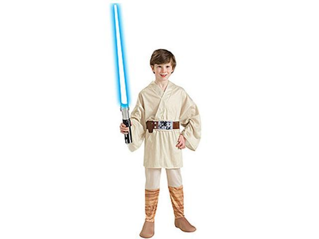 Rubies Costume Co 33109 Star Wars Luke Skywalker Child Costume Size Medium- Boys 8-10