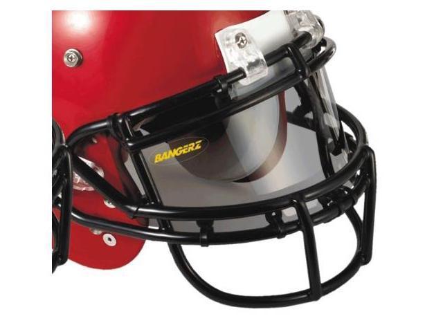 Bangerz HS-9000S Pro Vu Flexible Football Eyeshield - Smoke