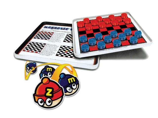 Travel Games MZ660023 Checkers Magnetic