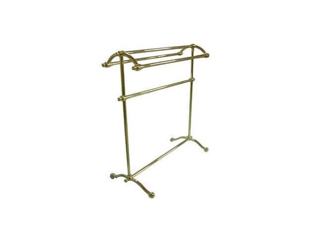 Kingston Brass CC2292 Free Standing Towel Rack - Polished Brass