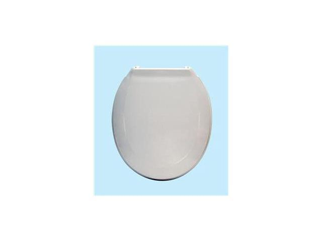 Centoco 440TM-001 White Luxury Plastic Toilet Seat