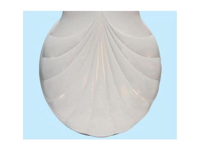 Centoco HP30SLC-001 White Lift and Clean Toilet Seat With Shell Design Cover